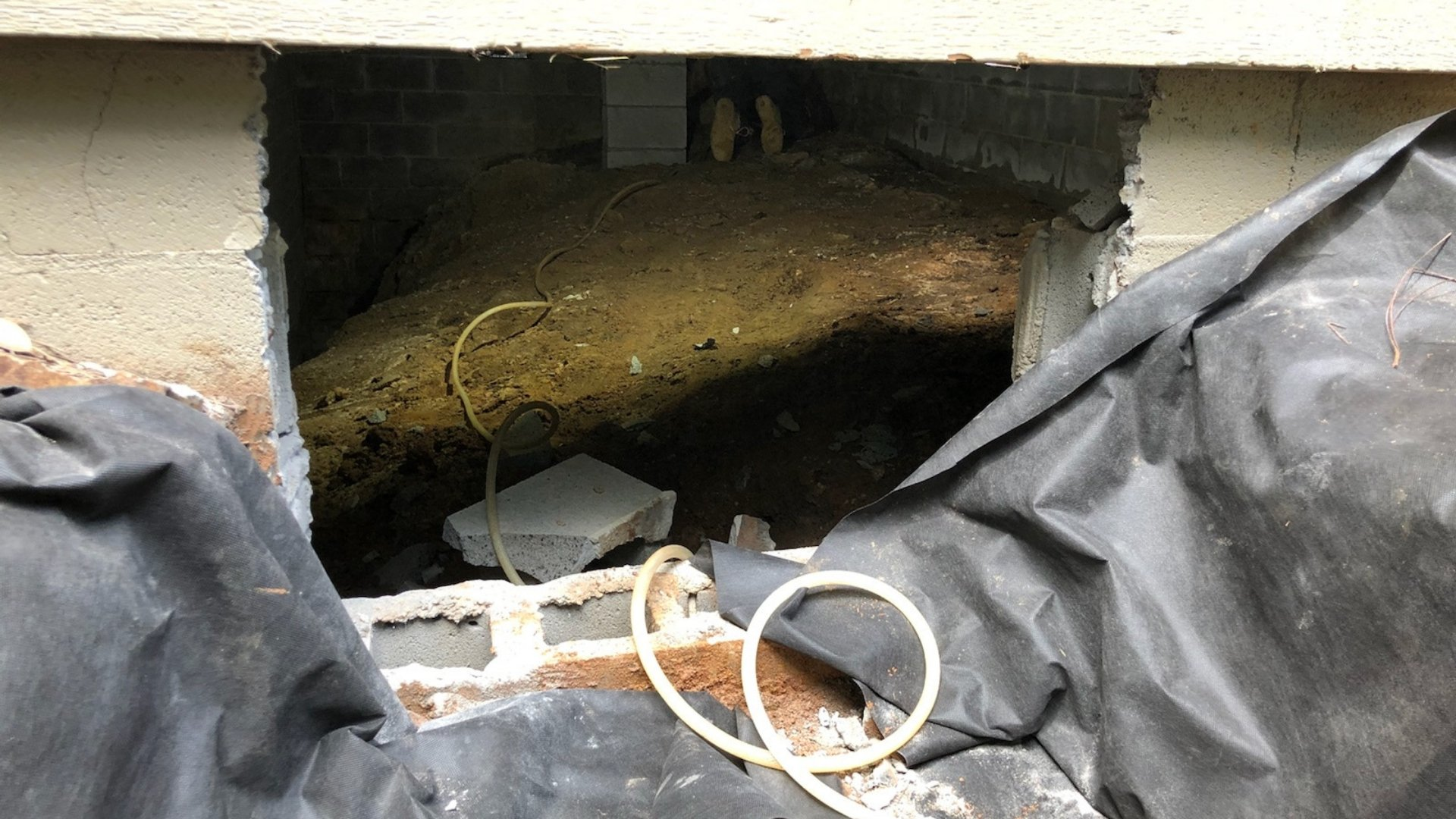 Exploring the Water Damage Prior Crawlspace Encapsulation