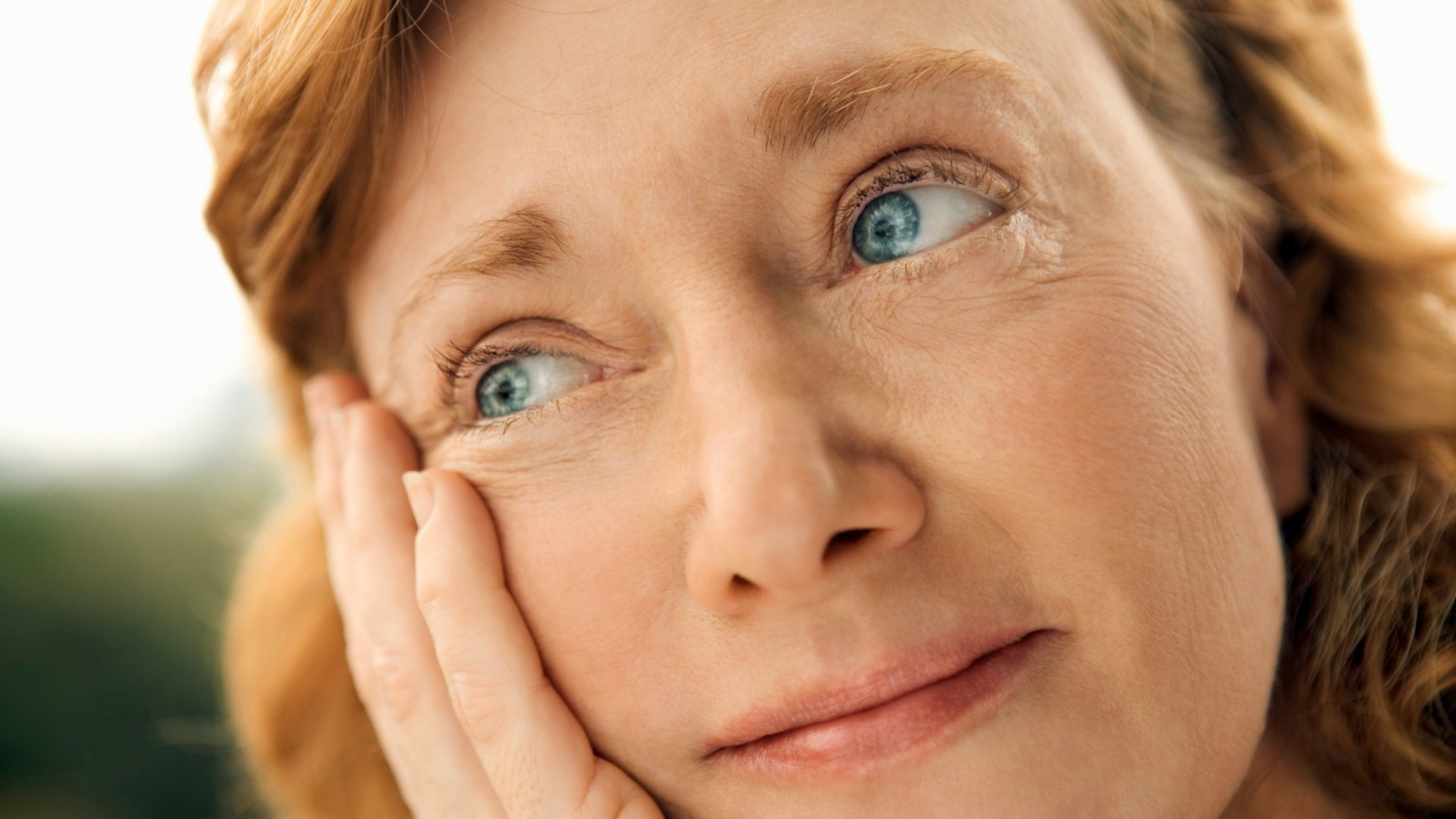 Woman Wondering About an Efficient Way to Heat and Cool Her Home
