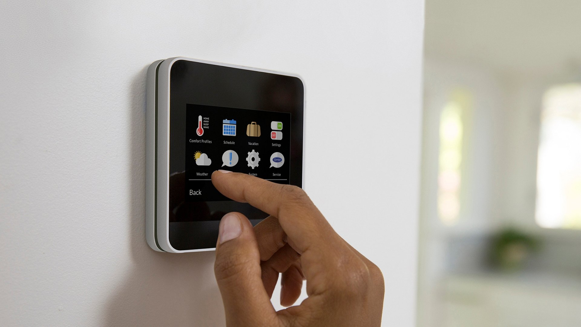 Smart Thermostat Programmed for Zoning System