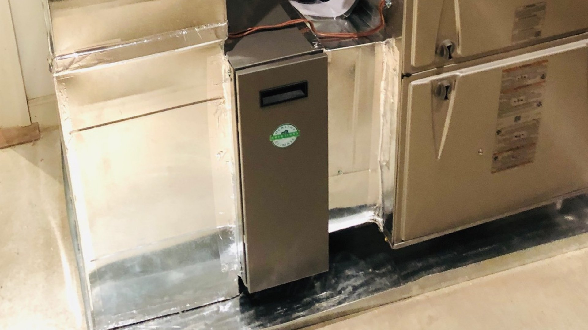 Lennox Air Purification System Installed