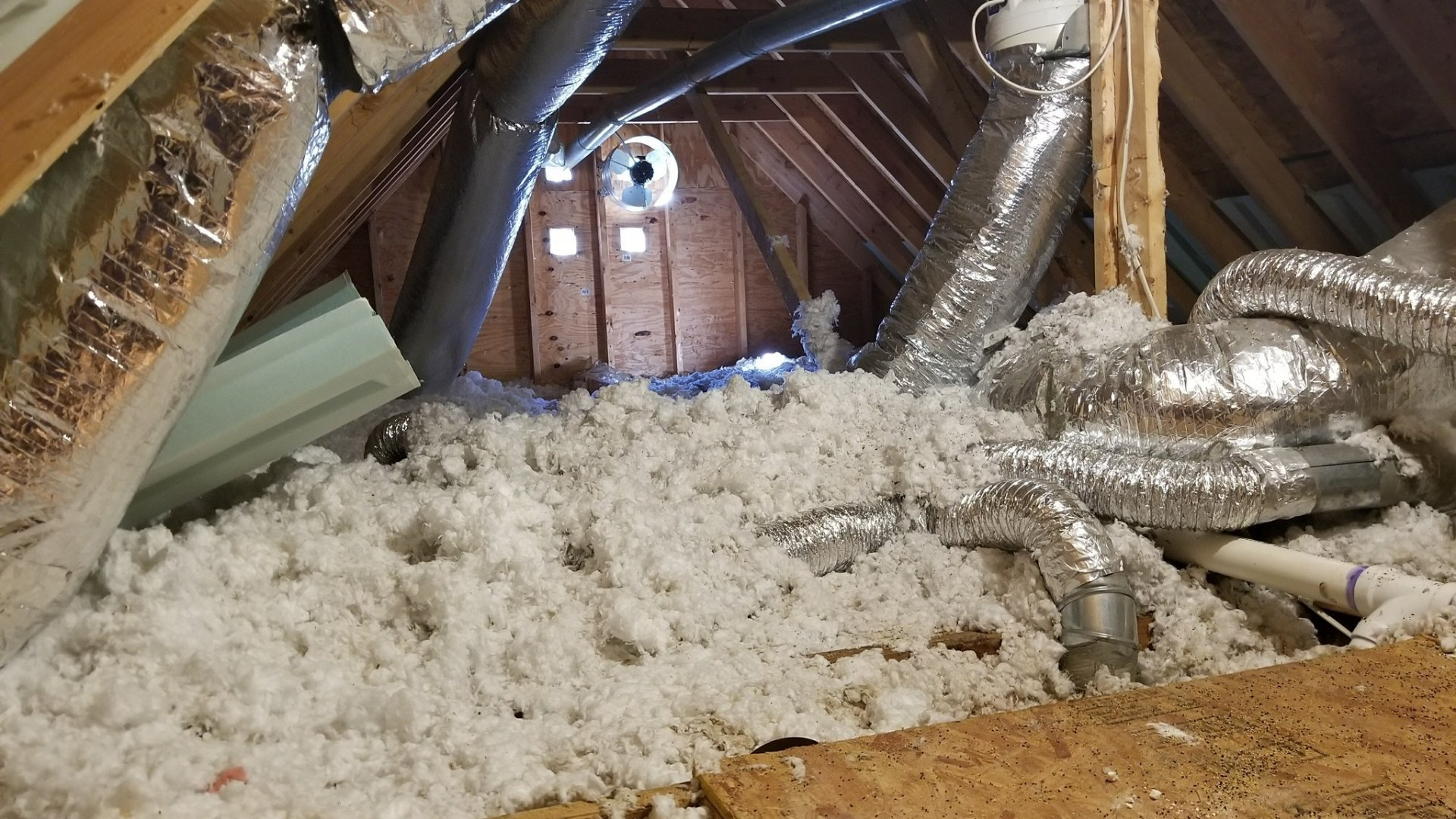 Worn or Poorly Insulated Attic
