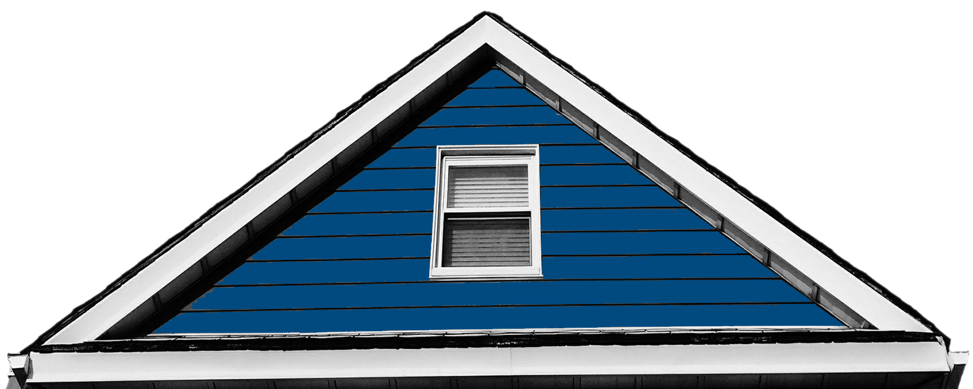 Blue Roof on Zoned House