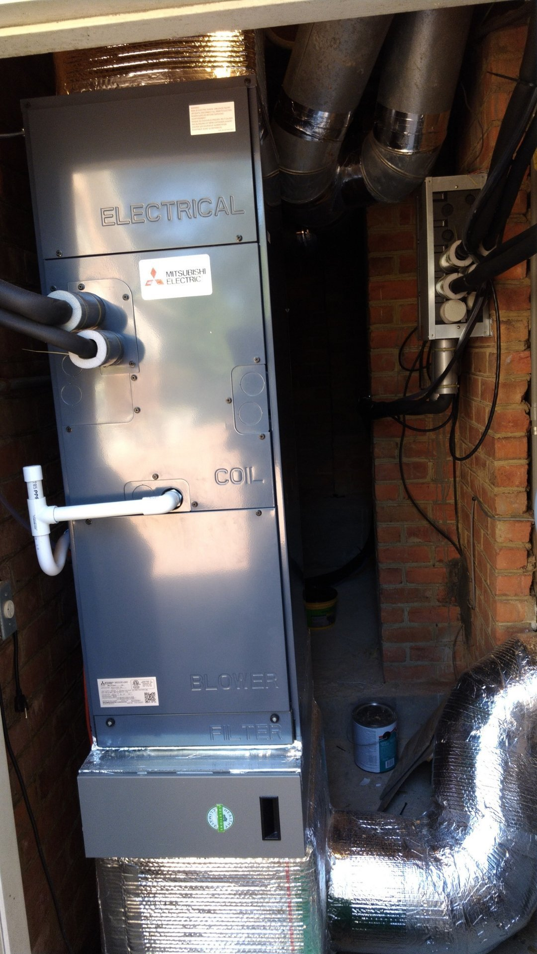 Air Handler Installed - Page Gallery