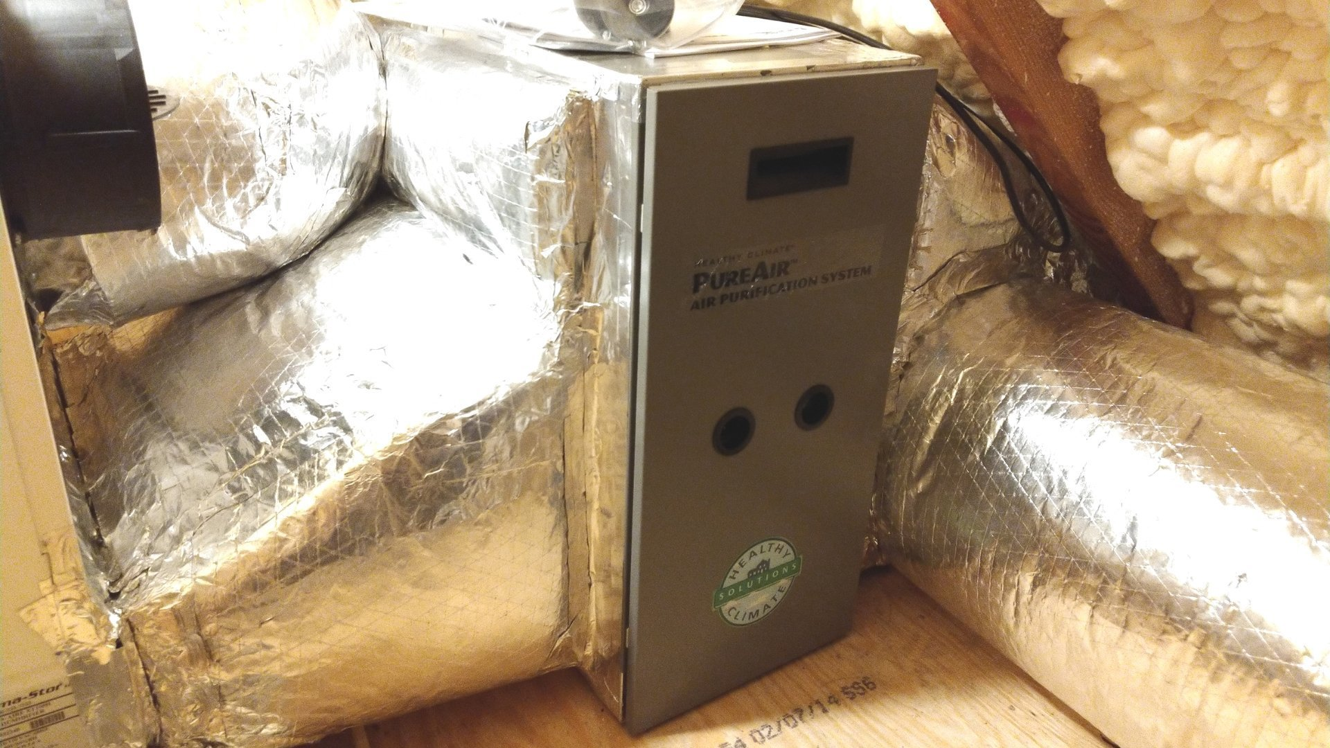Air Purification Installed in Duct Work - Page Gallery