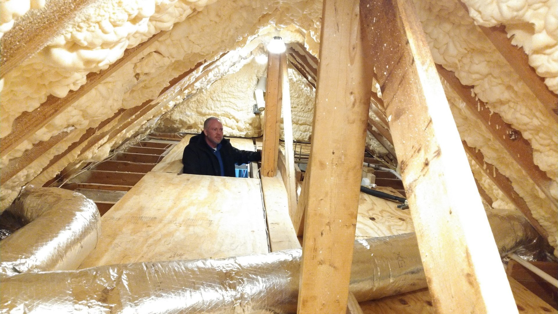 Attic Insulted During Encapsulation - Page Gallery