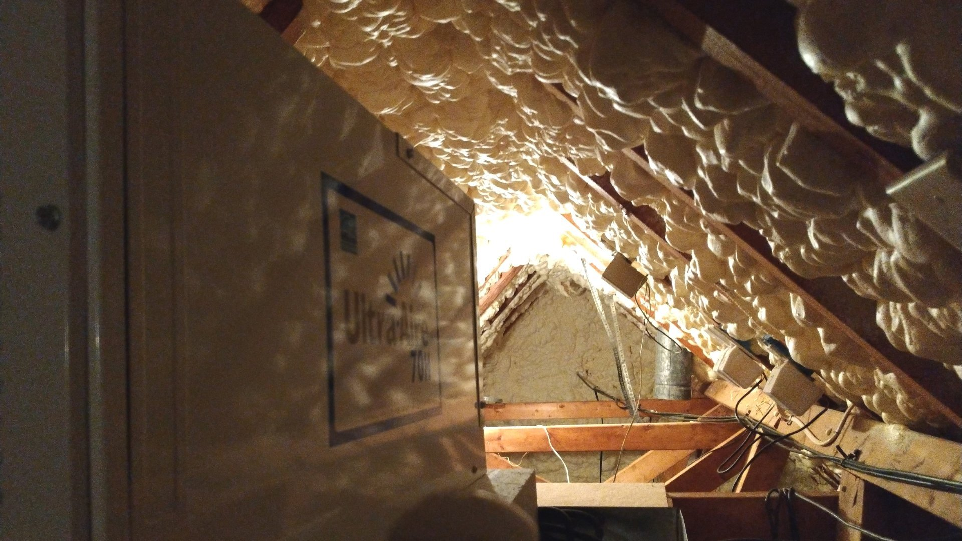 Up Close with a Dehumidifier - Attic Encapsulation Page Gallery