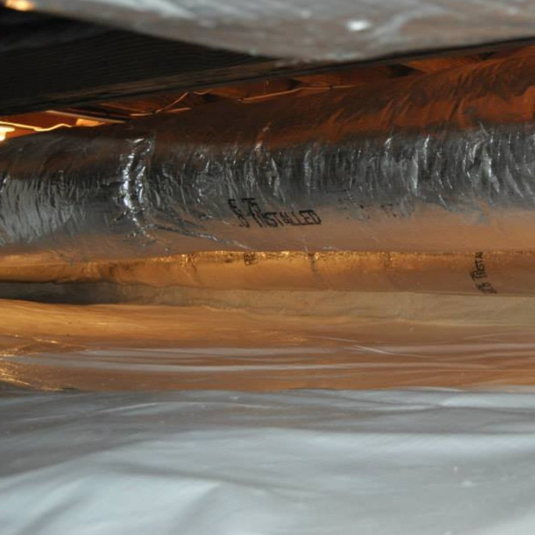 Duct Sealing in Crawlspace Encapsulation - Page Gallery