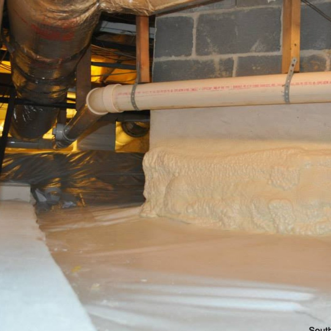 Crawlspace Insulation and Waterproofing - Encapsulation Page Gallery