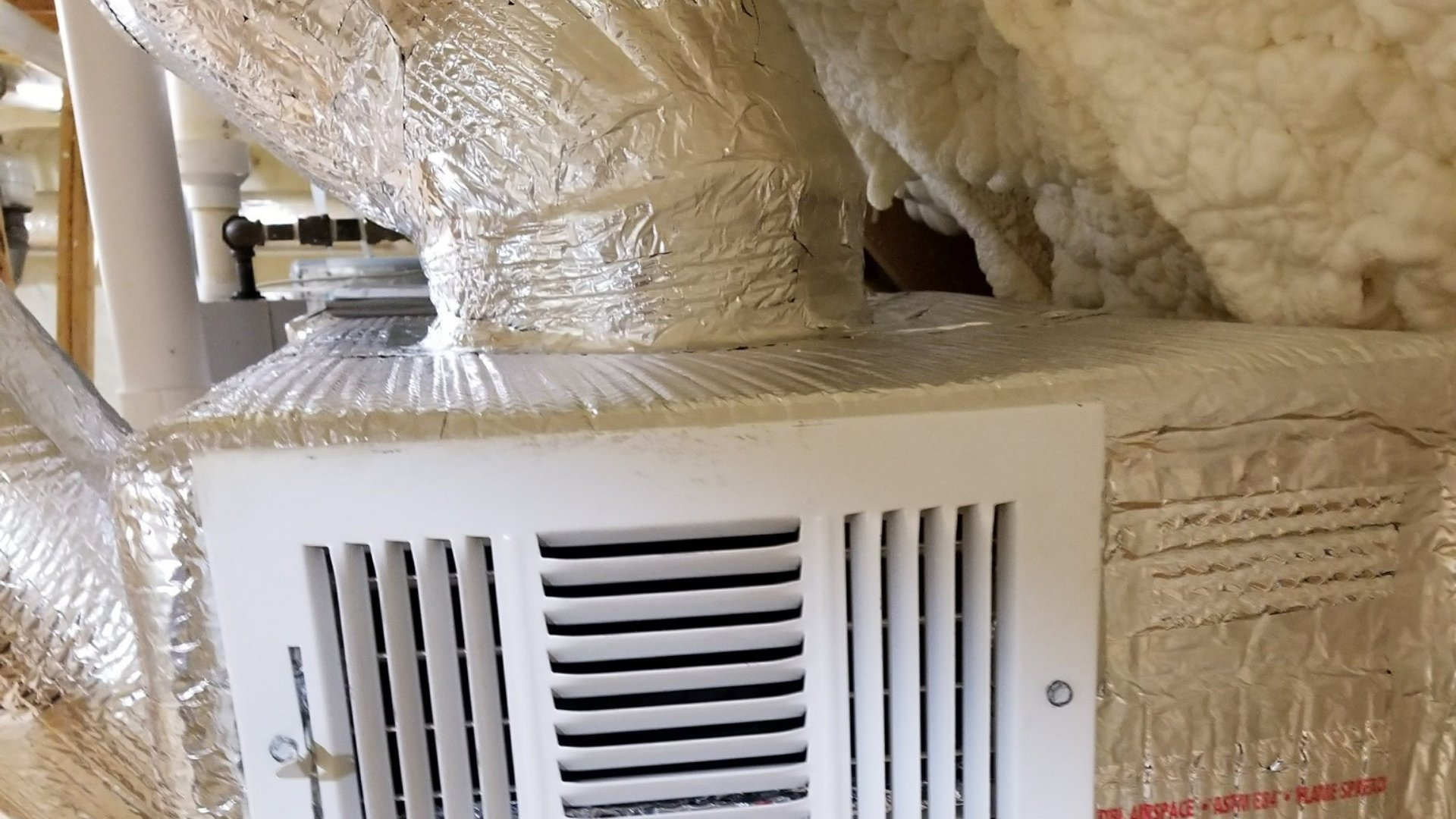 Duct Sealing Near Intake Vent - Page Gallery