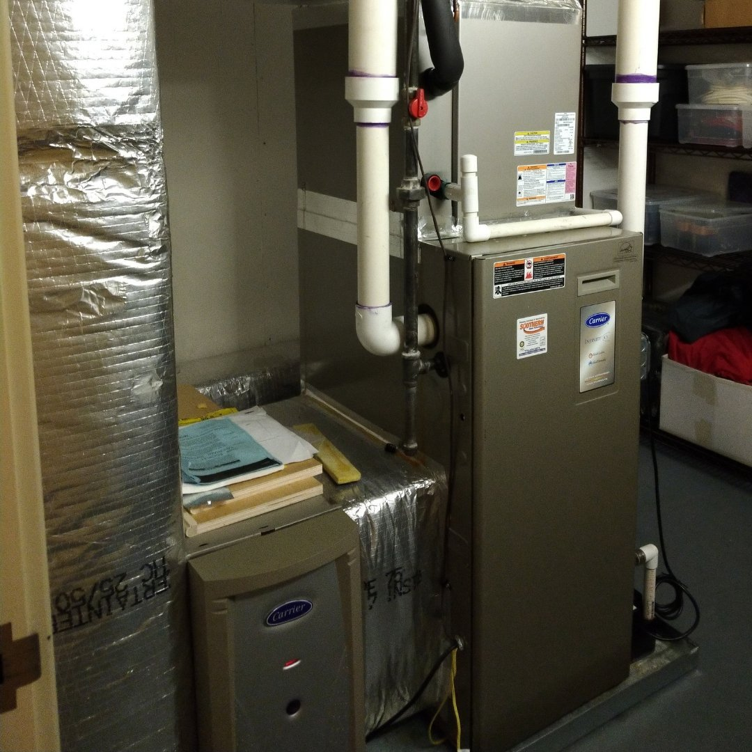Installed Carrier Furnace - Heating Page Gallery