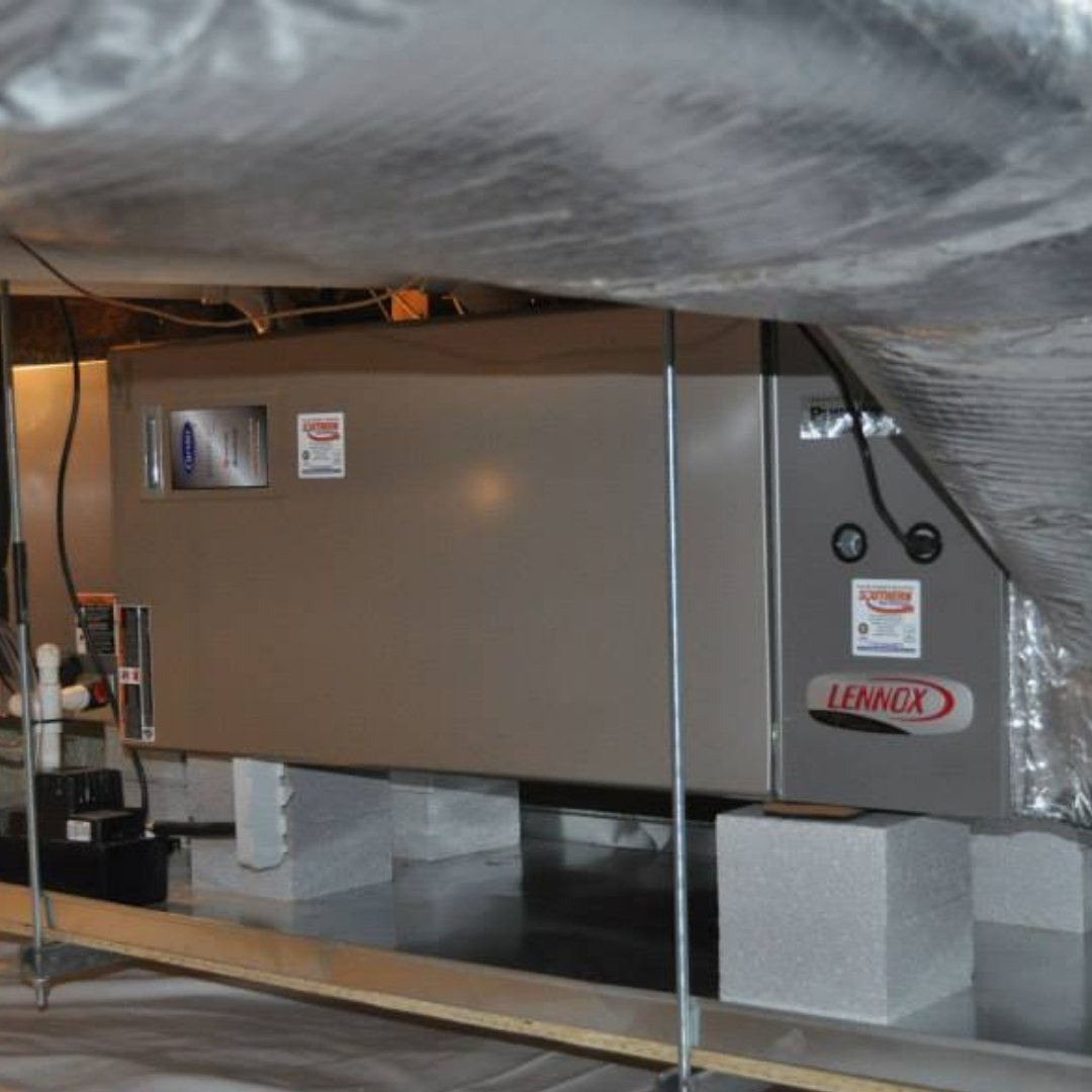 Furnace in Crawlspace - Heating Page Gallery