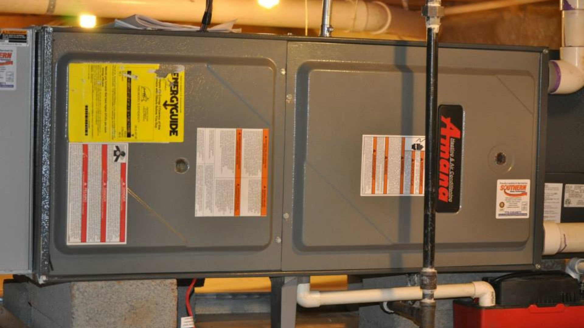 Furnace Installation in Attic - Heating Page Gallery