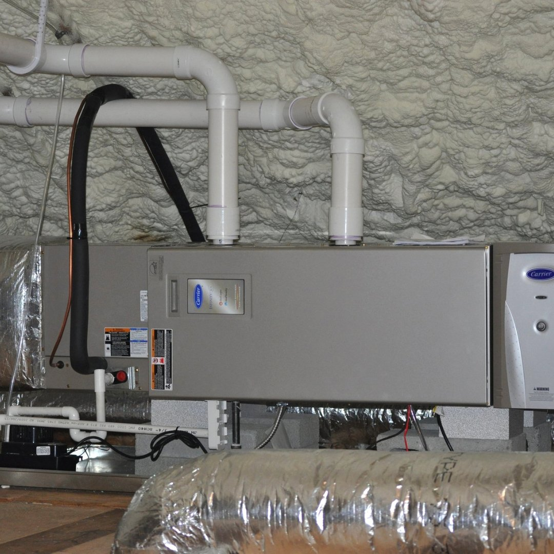 Carrier Furnace in Attic - Heating Page Gallery