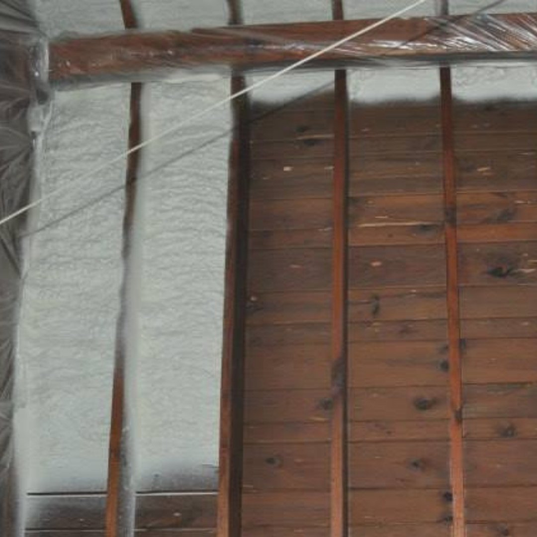 Spray Foam Insulation Application - Page Gallery