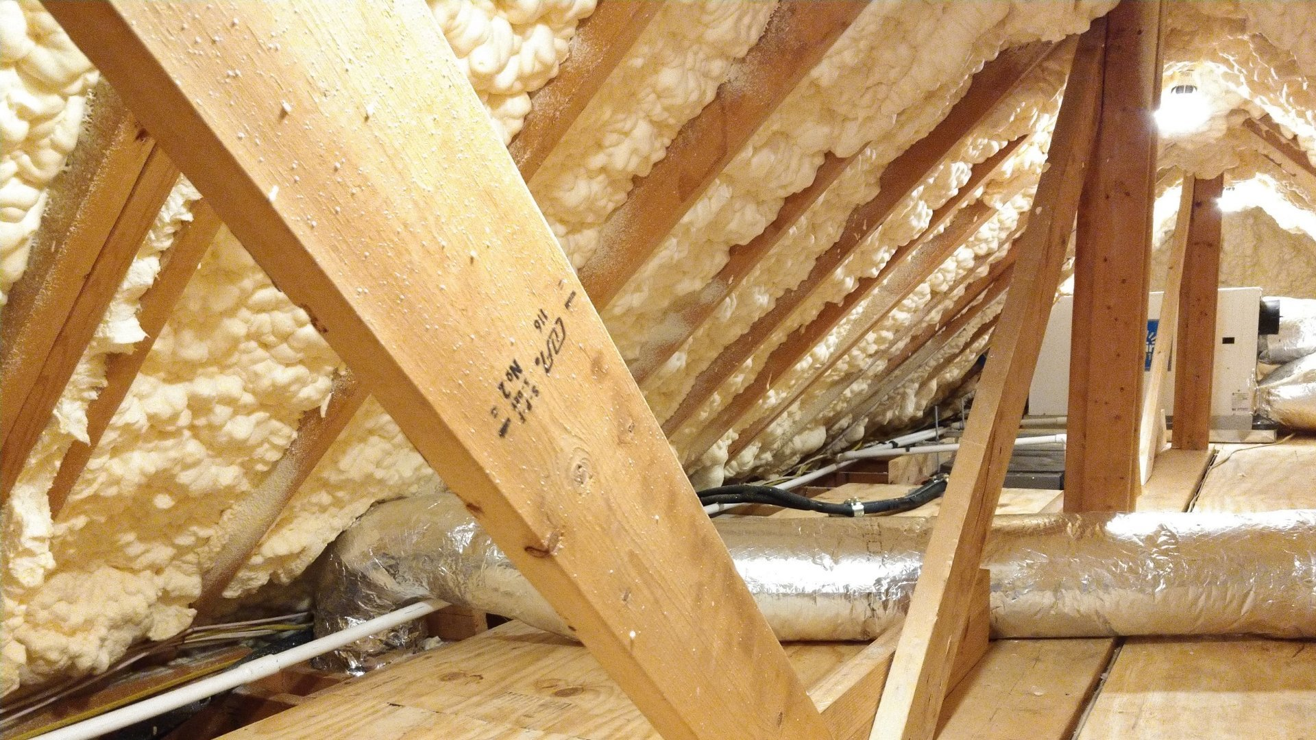 Insulation in Attic Encapsulation - Page Gallery
