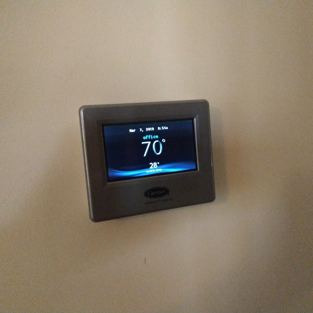 Smart Thermostat Installed for Zoning System - Page Gallery