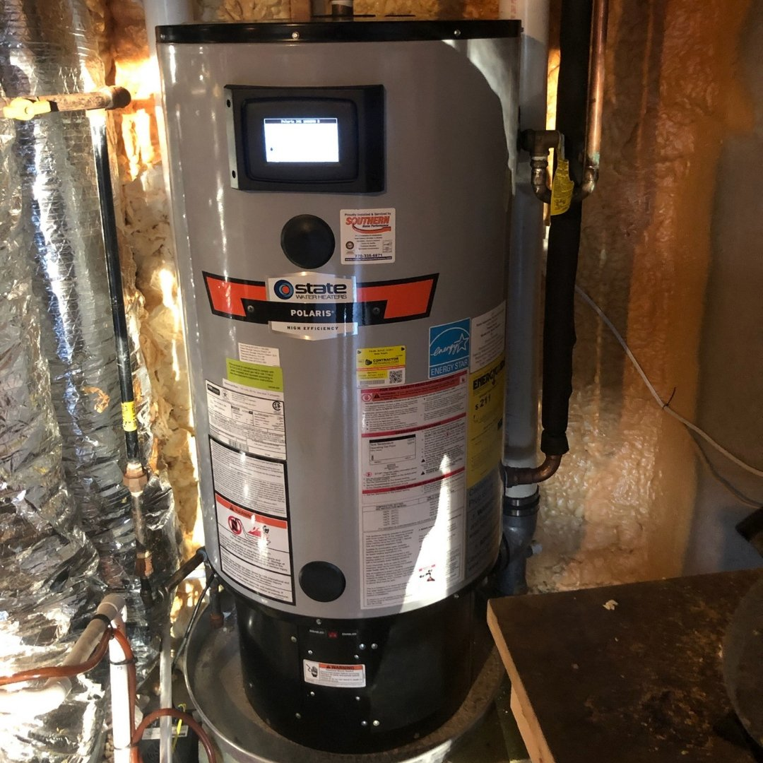 Polaris Water Heater Installed - Page Gallery